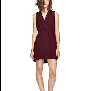 Wilfred Sabine plum dress